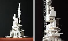 Image result for lego architecture model