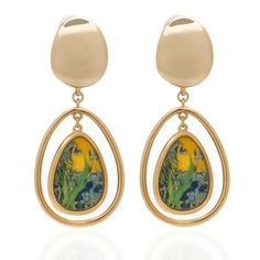 Van Gogh Earrings – Erwin Pearl