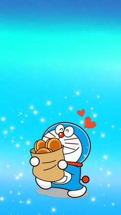 Doraemon dan Dorayaki Doraemon Wallpapers, Cute Cartoon Wallpapers, Pretty Wallpapers, Wallpaper Iphone Cute, Galaxy Wallpaper, Doraemon Cartoon, Doodle Art Drawing, Cute Cartoon Drawings, Miffy