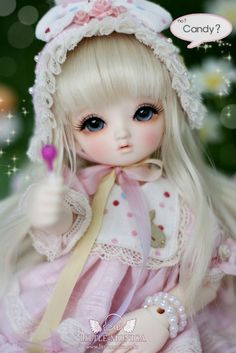 96.00$  Watch here - http://alix00.worldwells.pw/go.php?t=32719899588 - 1/6 scale BJD sweet cute kid Littlemonica Blossom Lucile Resin figure doll DIY Model Toys.Not included Clothes,shoes,wig 96.00$