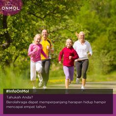 Yuk, biasakan berolahraga mulai dari sekarang! ... #OnMolID #Info #Fakta #Kesehatan #SeptemberWish #KamisKeren