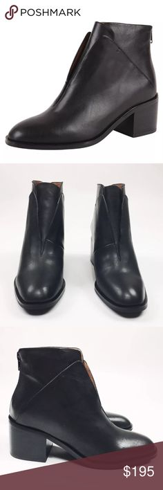 b4692d4acde NEW In Box 7 Jeffrey Campbell Black Leather Boot Brand New In Box Jeffrey  Campbell