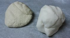dough and clay
