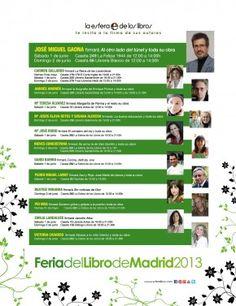 Varios autores de La Esfera firman ejemplares de su obra el primer fin de semana de la Feria del Libro 2013