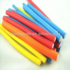 NO.1 foam hair rollers, flexible hair rollers