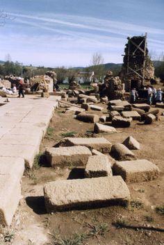 AMMAIA - Início das escavações (1995/96), Jorge Oliveira #Marvao #Alentejo #Portugal #travel #hotel #BoutiqueHotelPoejo