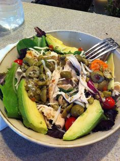 Rotisserie Chicken and Avocado Salad