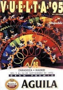 1995 Vuelta a Espana Poster. The word that springs to mind here is 'Busy'. Although this is a wonderfully designed, colourful poster with a kaleidoscope feel. Design Poster, Graphic Design, World Cycle, Mountain Bike Shop, North Palm Beach, Bike Poster, One Of The Guys, Tour Posters, Old Bikes