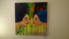 """face to face"" Invitations, Face, Painting, Art, Painting Art, Faces, Paintings, Paint, Draw"