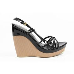 Sebastian Milano ladies espadrille wedge sandal S3687VG VERNICE NERA