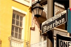 Bourbon Street in the French Quarter, New Orleans | The Best Jazz Clubs in New Orleans