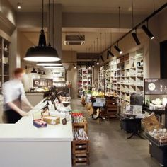 The Ultimate Timesaver: DIY Dinner in Germany Remodelista Deli Shop, Restaurants, Store Layout, Central And Eastern Europe, Food Places, Commercial Interiors, Home Decor Furniture, Retail Design, Architecture