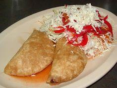 Traditional Honduran Foods & Desserts Comida Hondureña, pastelitos de carne con repollo
