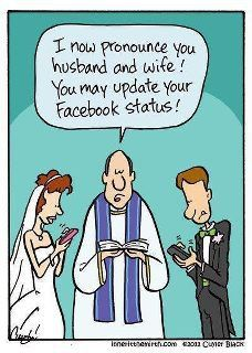Haha! I think some people do it during the middle of their wedding! Cracks me up!