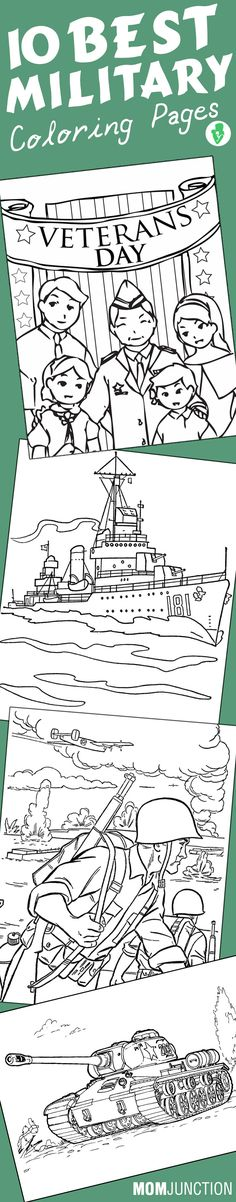10 Best Military Coloring Pages Your Toddler Will Love