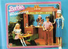 Barbie loves McDonalds