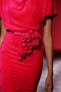 Schiaparelli Couture 2014 wonderful red!