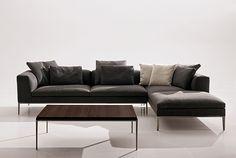 Sistema de asientos Michel, by Antonio Citterio    Un completo sistema de asientos sobrio y elegante, diseñado por Antonio Citteri