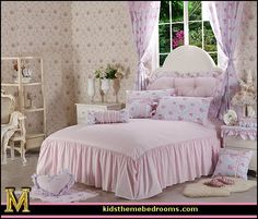 victorian decorating ideas vintage decorating victorian boudoir romantic victorian bedroom decor lace and ruffles bedding floral bedding - Victorian Bedroom Decorating Ideas