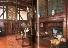 Edwardian Home Interiors | Victorian and edwardian furniture & interiors - Cooper Jeremy - Thames ...