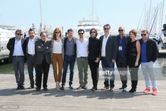 CANNES, FRANCE - APRIL 14: Alexander Vlahos, Jalil Lespert and... #milia: CANNES, FRANCE - APRIL 14: Alexander Vlahos, Jalil… #milia