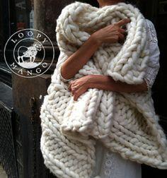 "Free Pattern Friday: Nantucket Throw (1 ""bump"" of super bulky yarn from Loopy Mango) – ImagiKnit"