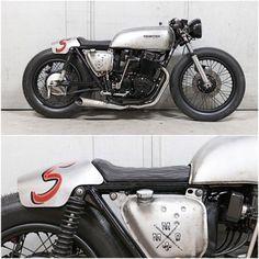 750CB MadeMenBikes. (Via Ottonero Café Racer). #honda...