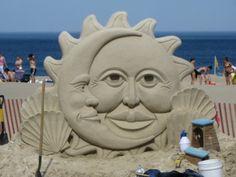 Hampton Beach sand sculpture