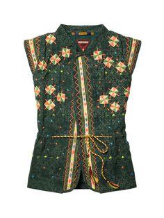 Embroidered boho girls jacket / gilet - Scotch & Soda