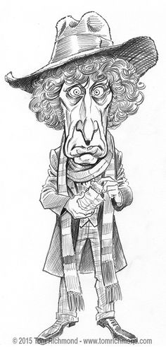 Here is another of the Doctors… Doctor number four Tom Baker! Again, these are pencil studies for my new, updated Doctor Who limited edition print which will debut at NYCC in October! As always, th...