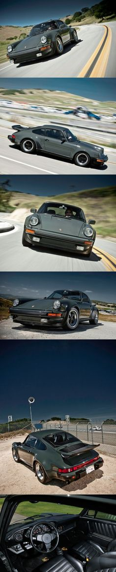 1976 Steve McQueen's Porsche 911 Turbo Carrera / 930 / 3.0l 260hp B6 / Slate grey / Germany / auctioned at Monterey for $1.95 mio.