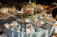 Whimsical Spring Inspired Tablescape