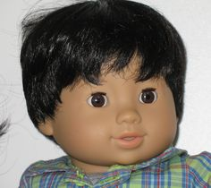 How adorable is this American Girl Bitty twin baby boy doll? Too cute!  #americangirl #bittybaby #dolls #boydolls