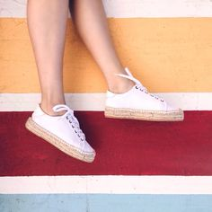 Soludos Leather Espadrille Sneakers #Anthropologie #MyAnthroPhoto