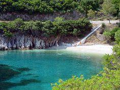 Kourvoulia beach-Ithaki Greece