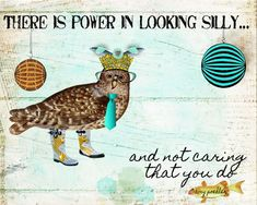Digital Art Print, Art Print, Collage Print, Collage Art, Bird, Vintage Image, Digital Print,Owl, Fish by AndreaMDesigns on Etsy Digital Collage, Digital Prints, Digital Art, Owl Art, Bird Art, Fun Prints, Poster Prints, Art Prints Quotes, Collage Artists