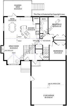 Bi level home 2013684 by home additions for Edesign plans