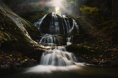 7.  Moss Glen Falls, Stowe