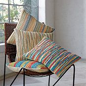 Chindi Pillow Covers from the Company Store