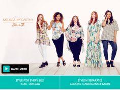 Melissa McCarthy: Shop the Melissa McCarthy Clothing Line | HSN