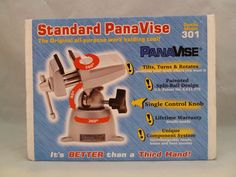 PanaVise 301 Standard Base Work Holding Tool Tilts Rotates New in Box USA Made #Panavise