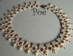 Poé gyöngyei: Kisbékák Seed Bead Earrings, Beaded Earrings, Beaded Jewelry, Jewellery, Handmade Beads, Handmade Jewelry, Bead Loom Bracelets, Beaded Collar, Jewelry Patterns