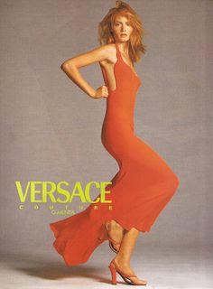 ☆ Amber Valletta | Photography by Richard Avedon | For Versace Campaign | Spring 1996 ☆ #Amber_Valletta #Richard_Avedon #Versace #1996