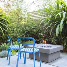 22 ideas for outdoor furniture - Private Patio Ideas