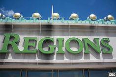 Cerulean Skies in Downtown Montgomery - Twenty-two stories high / By: Nicole Jones, Huntsville, AL