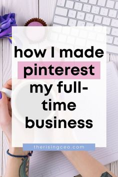 Here's exactly how I get paid to pin and made Pinterest my full-time business by becoming a Pinterest Manager! #pinterest #blogging #business