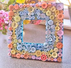 Button Decorations Craft