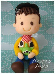 23/01 - Topo de bolo Toy Story para a Mamãe Elaine Marinho - SP by Andreia Akita, via Flickr