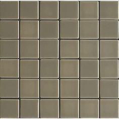Bedrosians Manhattan Silk Glass Mosaic Subway Wall Tile