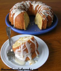 Lemon Cake recipe~The Southern Lady Cooks